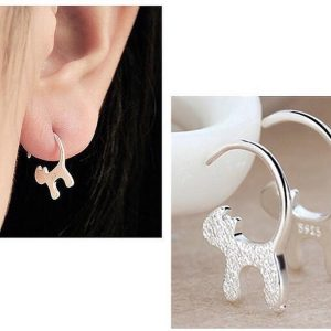 kitty earrings