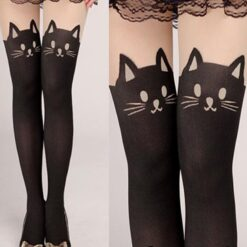 black cat stocking