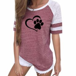 dog paw shirt