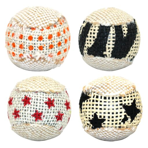 cat toy with ball