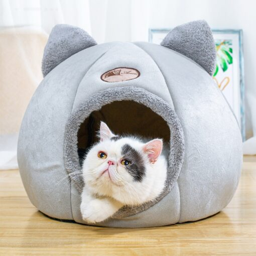 foldable warm winter cat bed