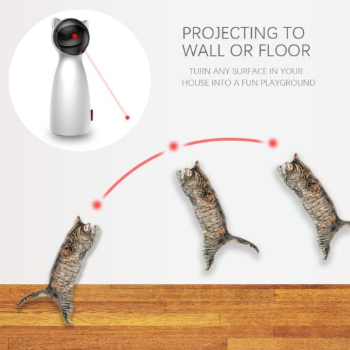 Automatic Cat laser pointer toy