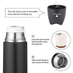 Cute cat thermos